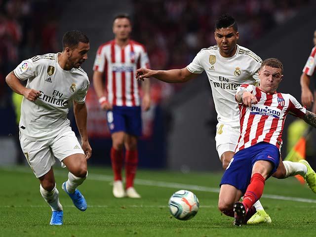 """Video highlight trận Atletico Madrid - Real Madrid: Nghẹt thở derby, """"Người nhện"""" xuất thần"""