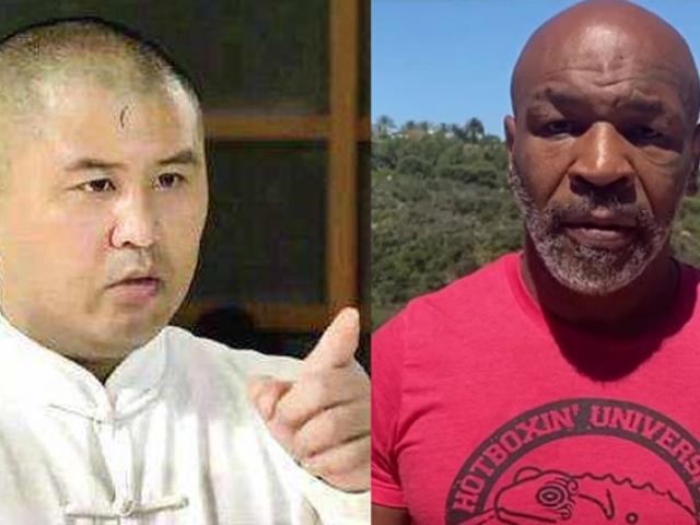 """Mike Tyson 54 tuổi đấm như """"súng máy"""" vẫn bị võ sư Trung Quốc dìm hàng"""