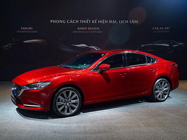 Giá lăn bánh Mazda 6 phiên bản nâng cấp vừa được ra mắt