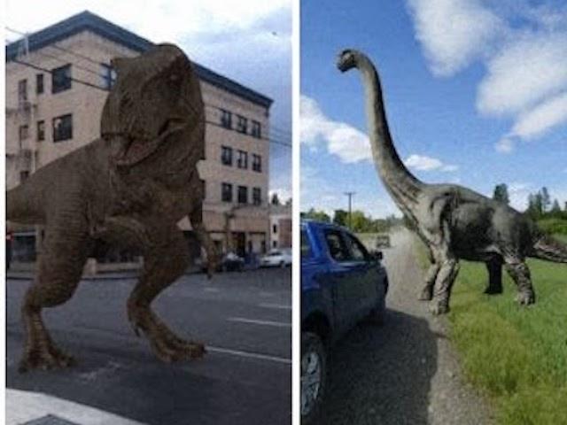 Mang khủng long từ kỷ Jura trở về qua mô hình AR 3D của Google