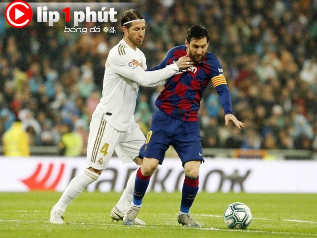 Thuyết âm mưu nào giúp Real soán ngôi Barca vô địch La Liga? (Clip 1 phút Bóng đá 24H)