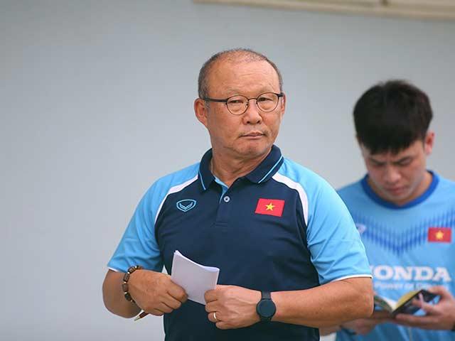 """HLV Park Hang Seo: """"U22 Việt Nam hiện nay không mạnh như thời Công Phượng"""""""