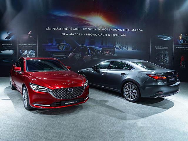 Mazda 6 2020 chốt giá bán từ 889 triệu đồng, sedan hạng D rẻ nhất phân khúc