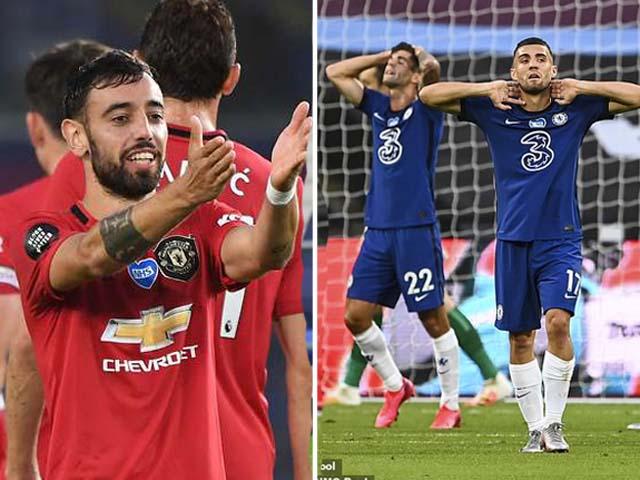 Nghẹt thở BXH Ngoại hạng Anh: Chelsea thua sốc, MU khi nào chiếm top 4?