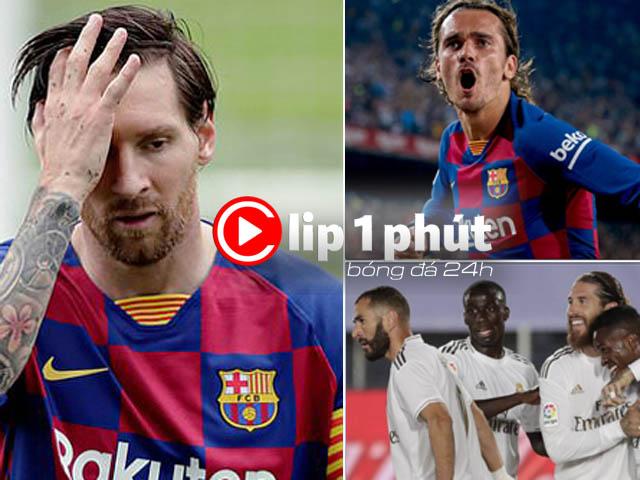 Messi gây sốc muốn rời Barca, ai được hưởng lợi nhất? (Clip 1 phút Bóng đá 24H)