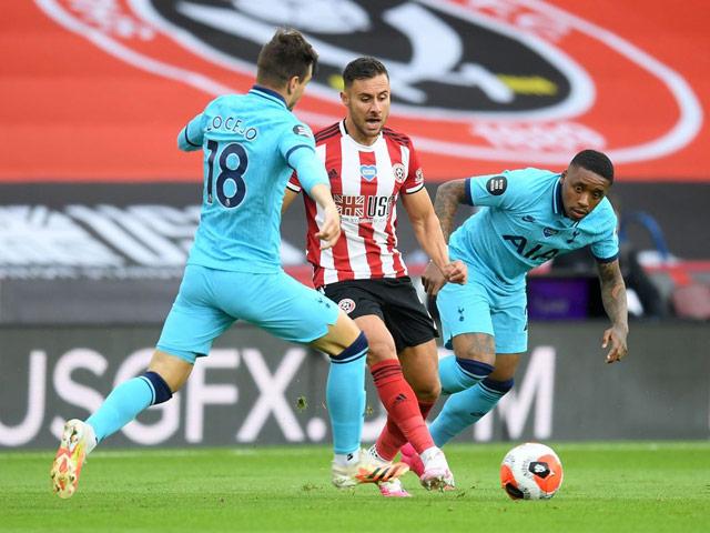 Trực tiếp bóng đá Sheffield United - Tottenham: VAR cứu thua cho chủ nhà
