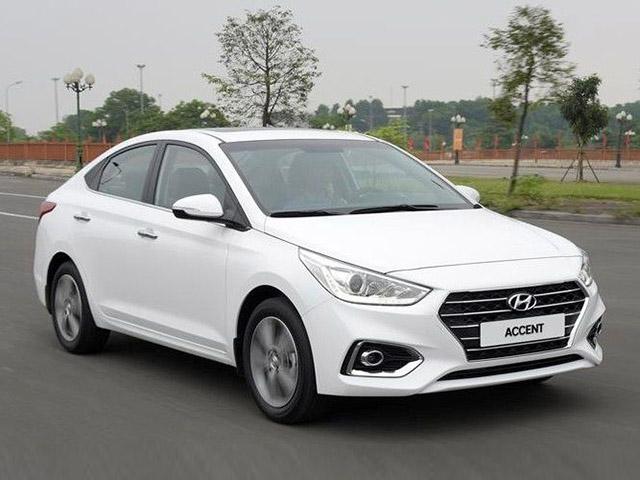 Giá xe Hyundai Accent lăn bánh giảm 50% trước bạ trong tháng 7/2020