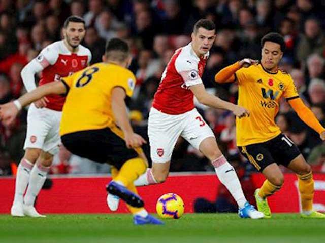 """Trực tiếp bóng đá Wolves - Arsenal: Aubameyang đá chính, """"Pháo thủ"""" quyết giành 3 điểm"""