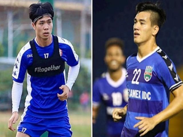 """Vòng 8 V-League """"đỏ lửa"""": Công Phượng đấu Tiến Linh, tâm điểm derby Thủ đô"""