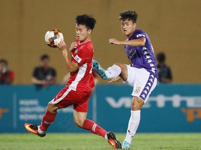 Video highlight trận Viettel - Hà Nội: 4 phút 2 bàn, rực lửa derby