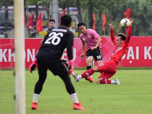Lịch trực tiếp bóng đá và link xem trực tiếp hôm nay: Viettel đấu Hà Nội xem kênh nào?