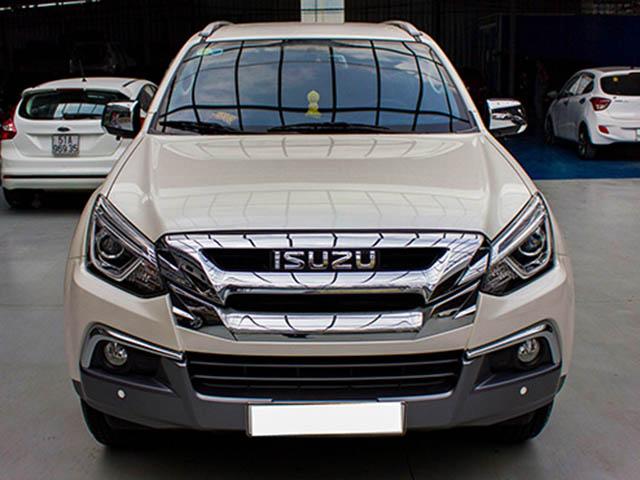 Isuzu Mu-X mẫu xe SUV 7 chỗ ít được ưa chuộng tại Việt Nam dù giá rẻ