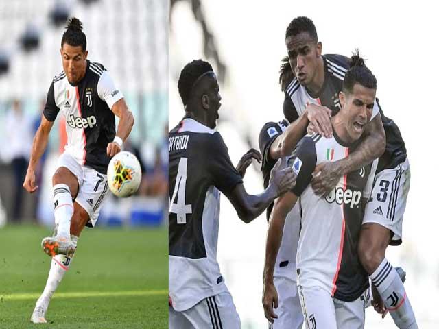 Ronaldo lập siêu phẩm đá phạt sau gần 3 năm, vẫn kém Messi...16 lần