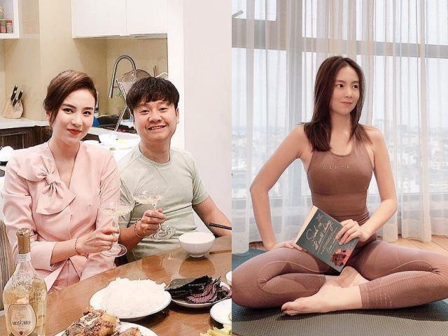 """Cận cảnh căn nhà """"triệu đô"""" của MC VTV cùng chồng thiếu gia Hà Thành"""