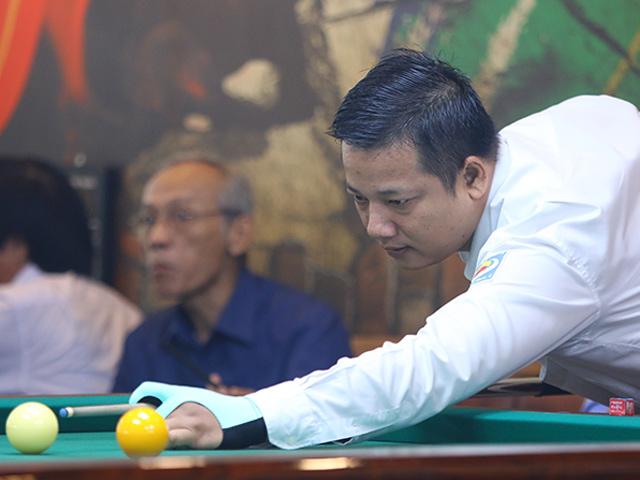 """Cao thủ bi-a Việt đi """"cơ điên"""" ghi 250 điểm, đối thủ chưa đánh đã bị loại"""