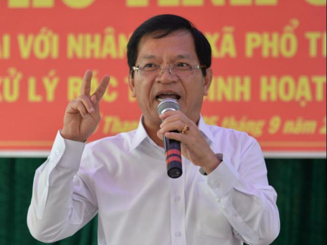 Công an điều tra về quyết định cho thôi chức ông Lê Viết Chữ bị tung lên mạng xã hội