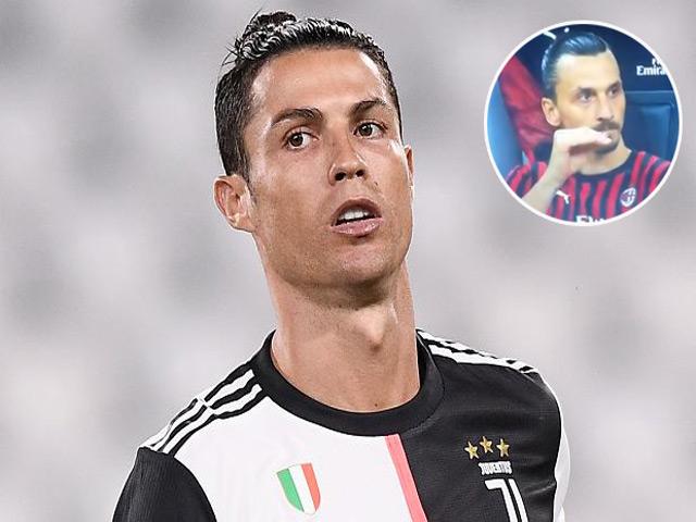 """Ronaldo """"bẽ mặt"""" ngày đấu Ibrahimovic: """"Học"""" Messi khiến đội nhà thua bàn"""
