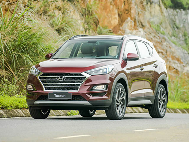 Giá xe Hyundai Tucson lăn bánh mới nhất tháng 7/2020