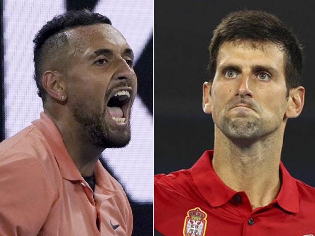 """""""Trai hư"""" Kyrgios chỉ trích cả làng tennis, sau Djokovic là đến ai?"""