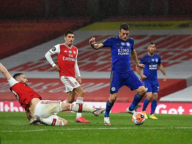 Video highlight trận Arsenal - Leicester: Thẻ đỏ oan trái, phút cuối nghẹt thở