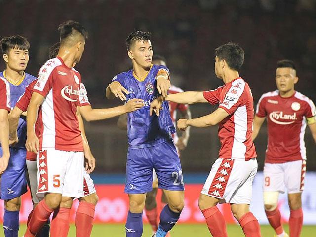 Cực nóng vòng 9 V-League: Khốc liệt top đầu, Sài Gòn đối đầu HLV Thành Công