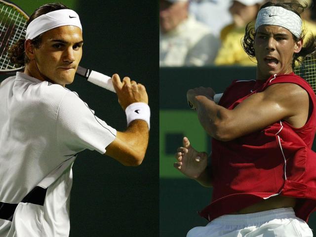 """Federer hé lộ bất ngờ khi lần đầu bị Nadal """"vùi dập"""" ở sân tennis"""