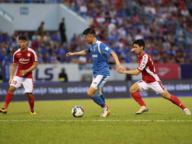 Video highlight trận Quảng Ninh – TP.HCM: Công Phượng tỏa sáng, 3 bàn sửng sốt
