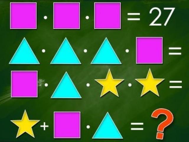 Câu đố hình khối khiến nhiều người phải ôn lại kiến thức cấp 1