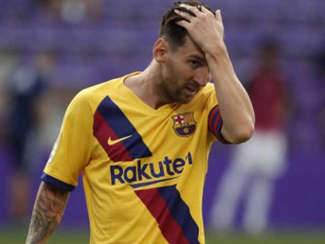 Messi trải qua chuỗi trận kém nhất sự nghiệp: 7 trận ghi vỏn vẹn 1 bàn