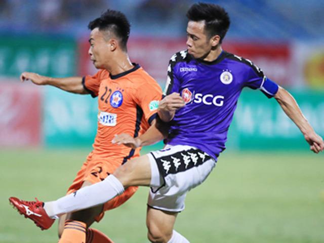 Trực tiếp bóng đá Đà Nẵng - Hà Nội: Chủ nhà tấn công áp đảo