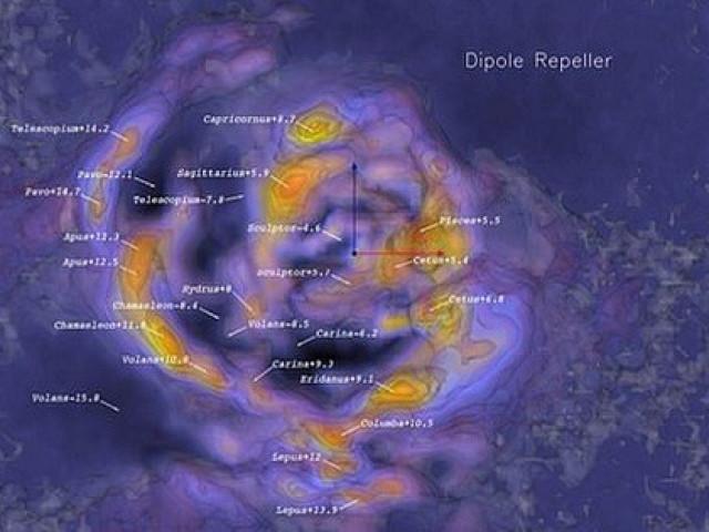 """Choáng ngợp """"khủng long vũ trụ"""" nuốt hàng trăm ngàn thiên hà"""