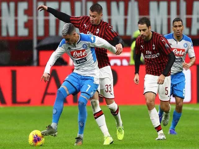 Video highlight trận Napoli - AC Milan: Đại tiệc 4 bàn, penalty định đoạt