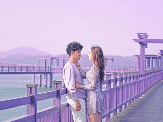 """Đảo tím lịm ở Hàn Quốc khiến giới trẻ """"phát sốt"""" khi tọa độ nào cũng đẹp như mơ"""