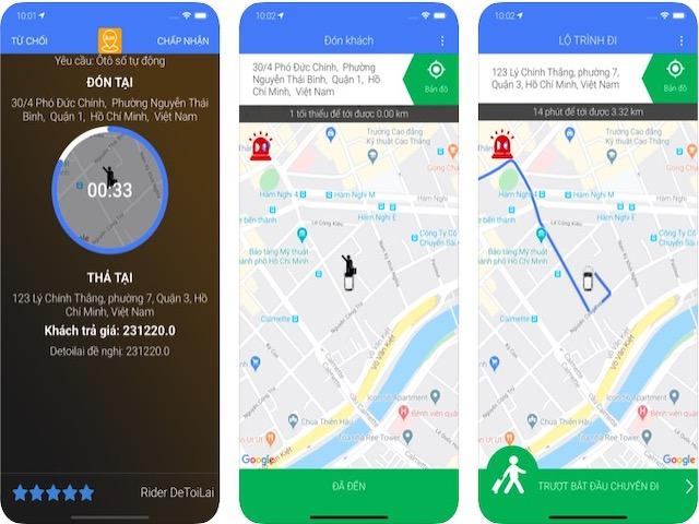 Xuất hiện ứng dụng gọi lái xe cho người xỉn, có thể trả giá chuyến đi