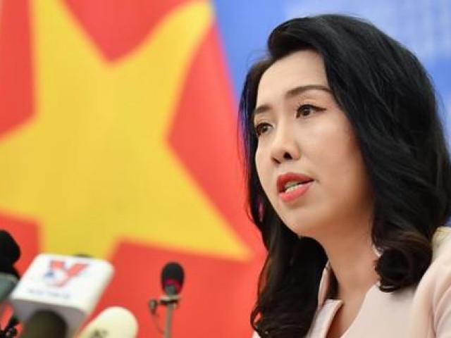 Người phát ngôn Bộ Ngoại giao phản ứng về Twitter Biển Đông của bà Hoa Xuân Oánh