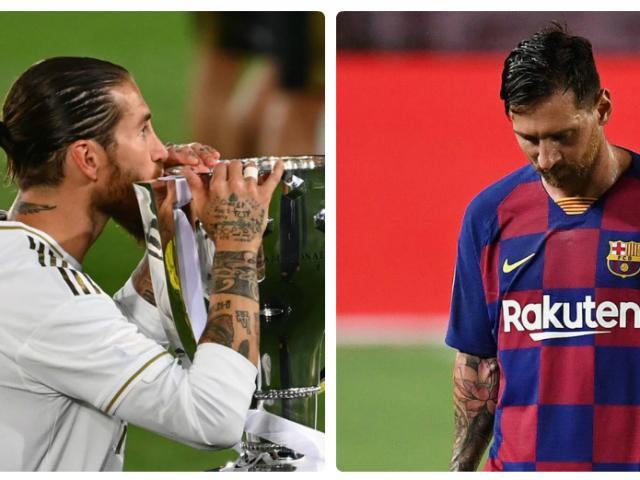 """Real vô địch La Liga: Báo chí """"chế nhạo"""" cả Barca, Ronaldo lẫn Messi"""