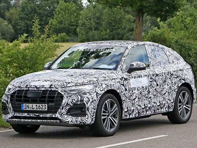 Hãng xe Đức Audi nhá hàng hình ảnh xe SUV Q5 Sportback mới