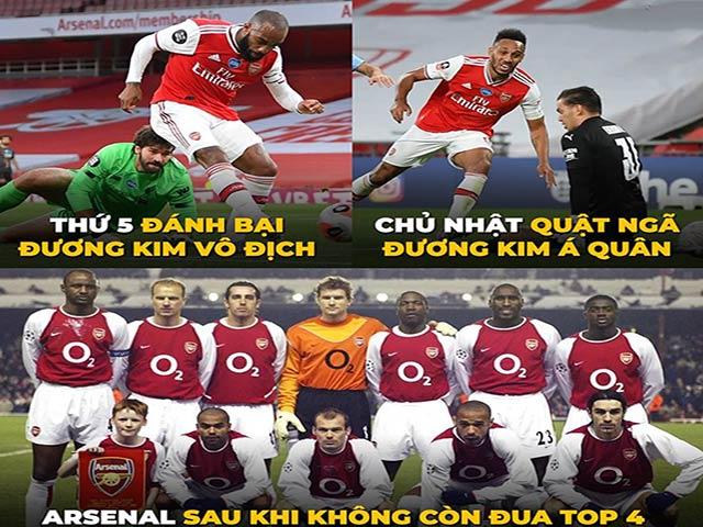 """Ảnh chế: Arsenal """"đánh mất mình"""" khiến fan bóng đá ngỡ ngàng"""