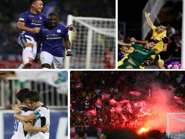 Điểm nhấn vòng 10 V-League: Ngây ngất siêu phẩm Tuấn Anh, Sài Gòn FC độc bá