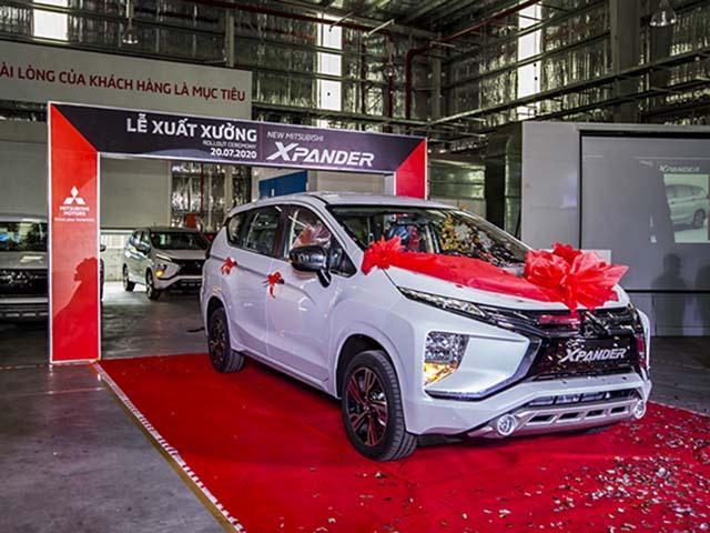 Mitsubishi Xpander (CKD) lắp ráp trong nước chính thức xuất xưởng
