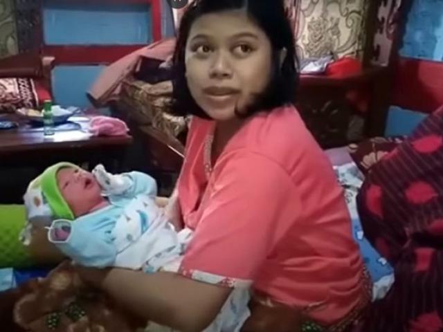 Sản phụ tuyên bố vừa mang thai 1 tiếng đã sinh con, bé trai chào đời ai cũng kinh ngạc