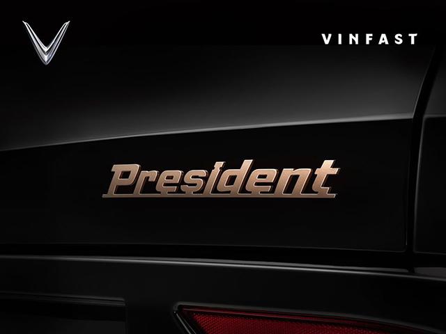 """VinFast President sắp trình làng, phiên bản giới hạn dành cho """"ông chủ"""""""