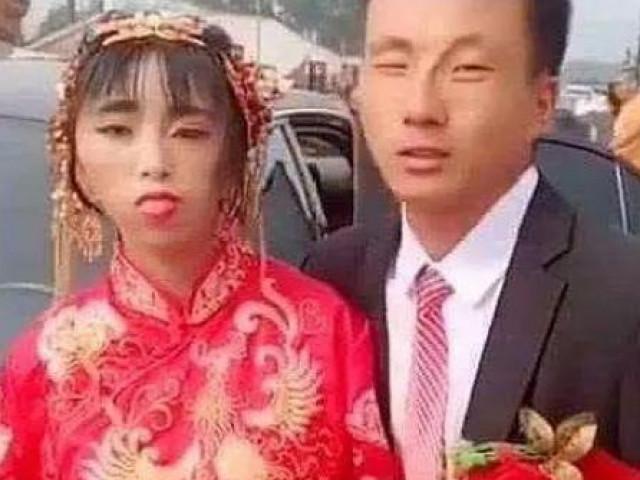 Hình ảnh cô dâu xấu xí, kỳ lạ gây sốt MXH, sự thật phía sau gây ra nhiều tranh cãi
