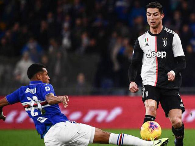 Nhận định bóng đá Juventus – Sampdoria: Siêu sao Ronaldo còn 2 mục tiêu để bứt phá