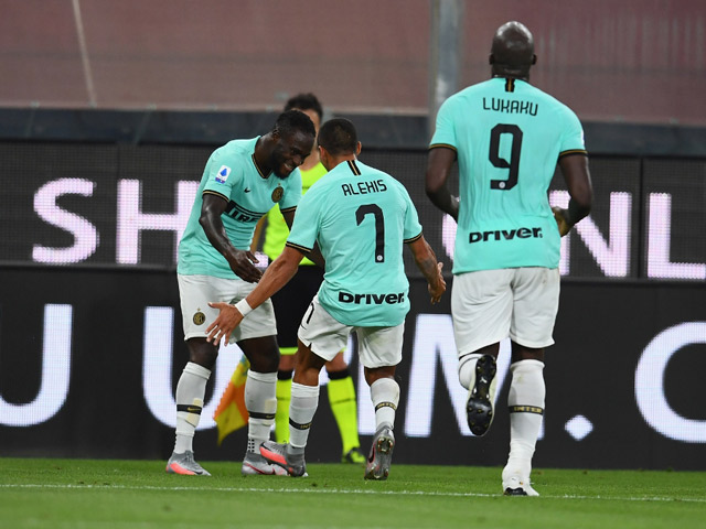 Video highlight trận Genoa - Inter Milan: Phản đòn mẫu mực, đánh chiếm top 2
