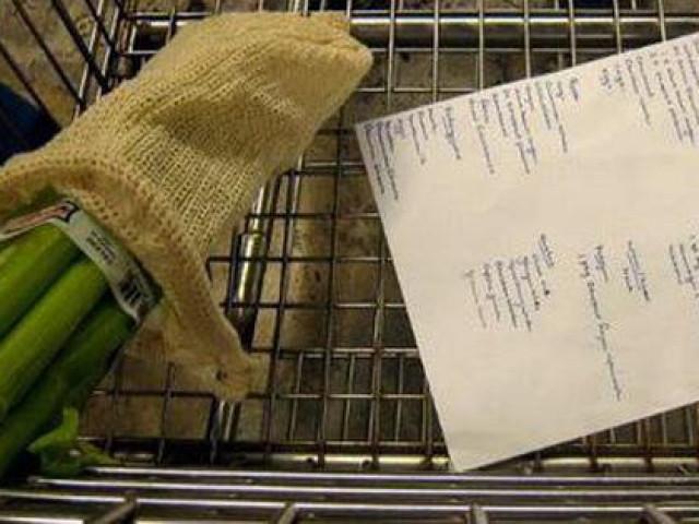 """Tờ giấy nhỏ cực kì quan trọng để bạn đi siêu thị mà không lo bị """"cháy túi"""""""