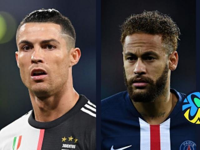 """Juventus & PSG nhận tin """"sét đánh"""" cúp C1: Ronaldo - Neymar lo điều gì?"""