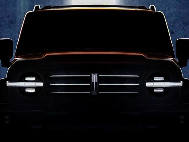 Ford Brocon vừa ra mắt đã có xe Trung Quốc nhái thiết kế