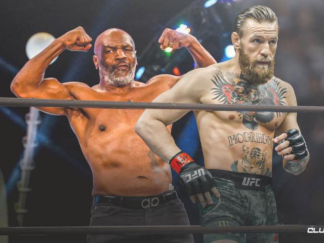 """Vua boxing Mike Tyson tuổi 54 đấu """"Siêu nhân"""", thề đá trúng McGregor"""