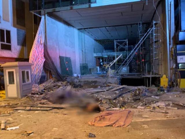 Tạm dừng thi công để điều tra vụ sập sàn nâng khiến 4 người tử vong